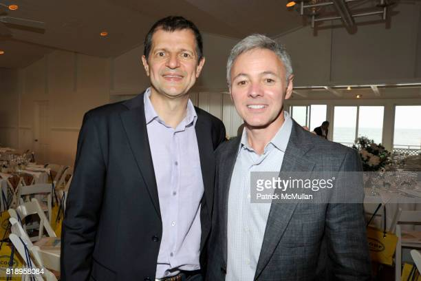 Gerry Logue and Cory Shields attend MIRACLE HOUSE 20th Anniversary Memorial Day Summer Kickoff Benefit honoring Amy Chanos and Jim Chanos at...