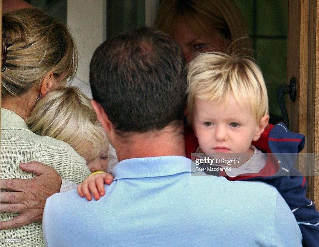 McCanns Return Home : News Photo