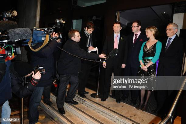 Gerry McCann Martin HoughtonBrown Chief Executive Missing People Kate McCann and Francis Herbert Secretary General Missing Children Europe at a...