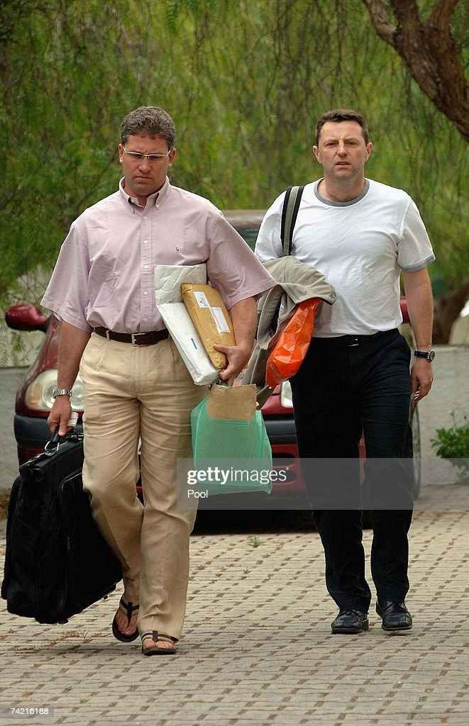 Gerry McCann Returns To Portugal : News Photo