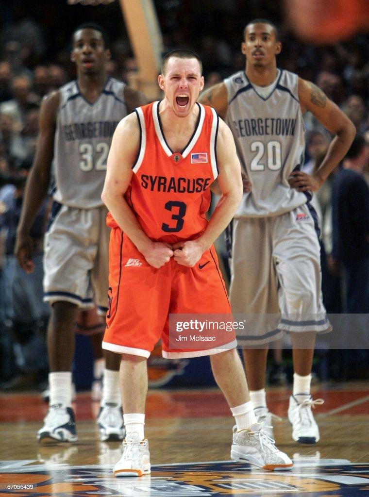 Syracuse Orange v Georgetown Hoyas : News Photo