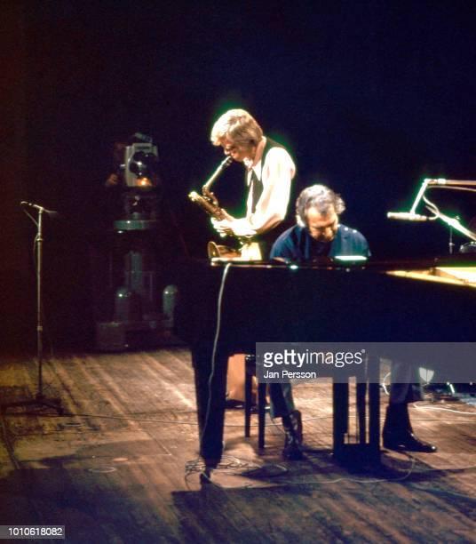 Gerry Mulligan and Dave Brubeck Copenhagen October 1970.