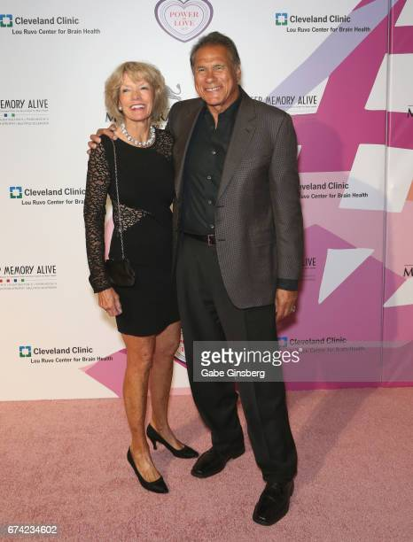 "Gerry Plunkett and her husband, former NFL player Jim Plunkett, attend Keep Memory Alive's 21st annual ""Power of Love Gala"" benefit for the Cleveland..."