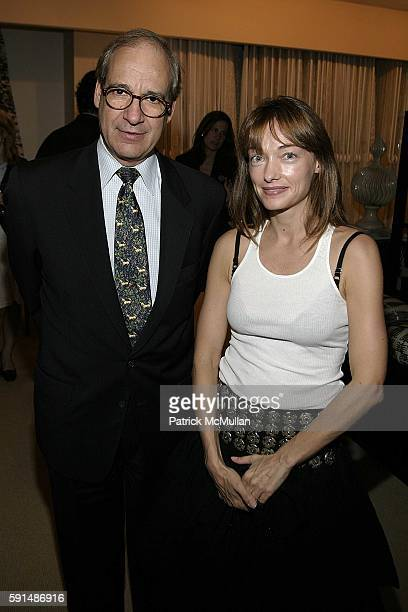 Gerry Puschel and Kelly Wearstler attend Cocktail reception to Celebrate the Introduction of the 'House of Kwid Collection' by Kelly Wearstler for...