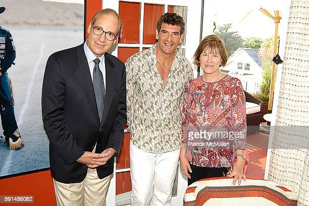 Gerry Puschell Geoffrey Blatt and Louise Puschell attend The Hampton Designer Showhouse Presented by House Garden Gala Preview Opening Night at Down...