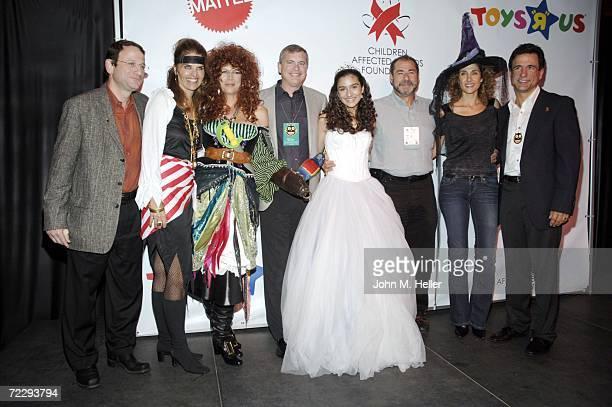 Gerry Storch, CEO Toys R Us, Maria Shriver, Children's Advocate Award recipient, Jamie Lee Curtis, Event Host, Bob Eckert, CEO Mattel. Inc., Shelbie...