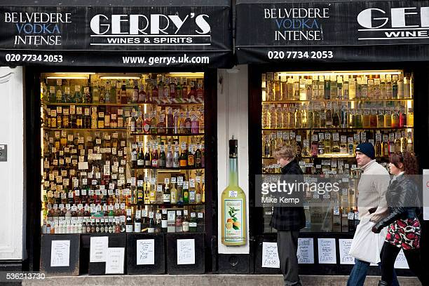 Gerry's Wines and Spirits on Old Compton Street in Soho London Gerry's Wines Spirits pride themselves in stocking the UK's largest selection of...