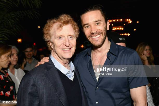 Gersh Agency CoPresident Bob Gersh and Tom Pelphrey attend the Gersh Upfronts Party 2018 at The Bowery Hotel on May 15 2018 in New York City