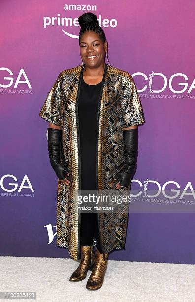 Gersha Phillips attends The 21st CDGA at The Beverly Hilton Hotel on February 19 2019 in Beverly Hills California