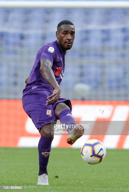 Gerson Santos during the Italian Serie A football match between SS Lazio and Fiorentina at the Olympic Stadium in Rome on october 07 2018