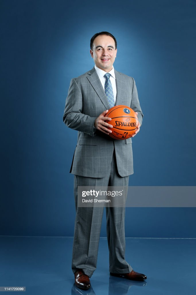 Gersson Rosas Minnesota Timberwolves President of Basketball Operations introduced to the Media : News Photo