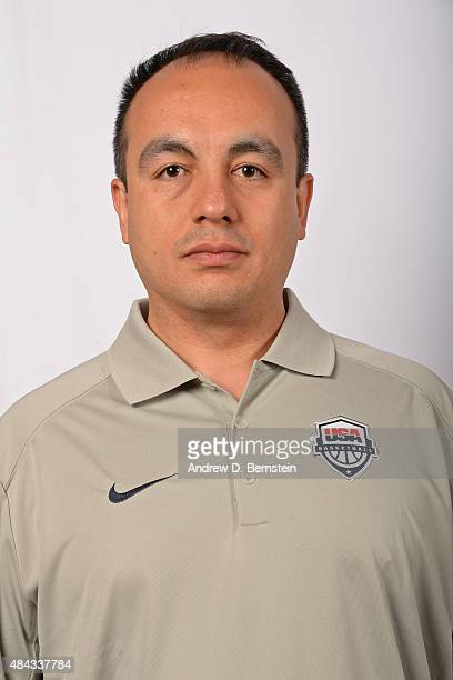 Gersson Rosas of the USA National Team poses for a headshot at the Wynnn Las Vegas on August 10 2015 in Las Vegas Nevada NOTE TO USER User expressly...