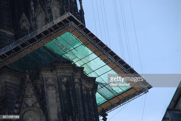 Gerüst am Kölner Dom Köln NordrheinWestfalen Deutschland Europa Reise BB DIG PNr 1026/2011