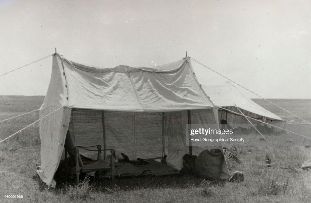Gertrude Bell's tent : News Photo