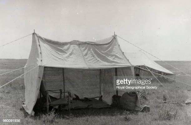 Gertrude Bell's tent Saudi Arabia 1913