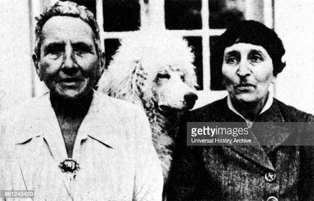 Gertrude stein and Alice B Toklas Gertrude Stein was an American novelist poet playwright and art collector Toklas was an Americanborn member of the...