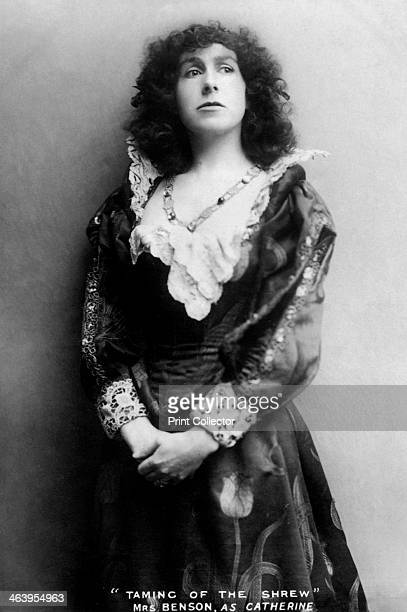 Gertude Constance Cockburn English actress early 20th century Cockburn in the role of 'Catherine' from Shakespeare's The Taming of the Shrew