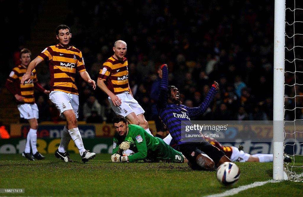 Bradford City v Arsenal - Capital One Cup Quarter-Final