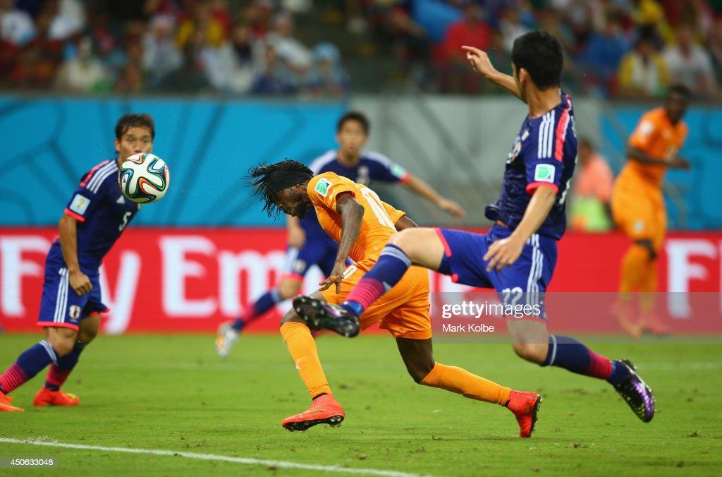 Cote D'Ivoire v Japan: Group C - 2014 FIFA World Cup Brazil : News Photo