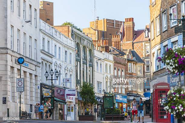 gervis street - bournemouth stock pictures, royalty-free photos & images