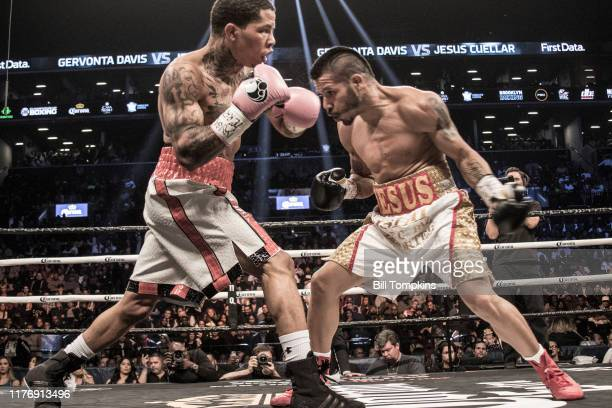 Gervonta Davis defeats Jesus Cuellar by 3rd round knockout in their WBA Super Featherweight fight at Barclays Center on April 21, 2018 in Brooklyn.