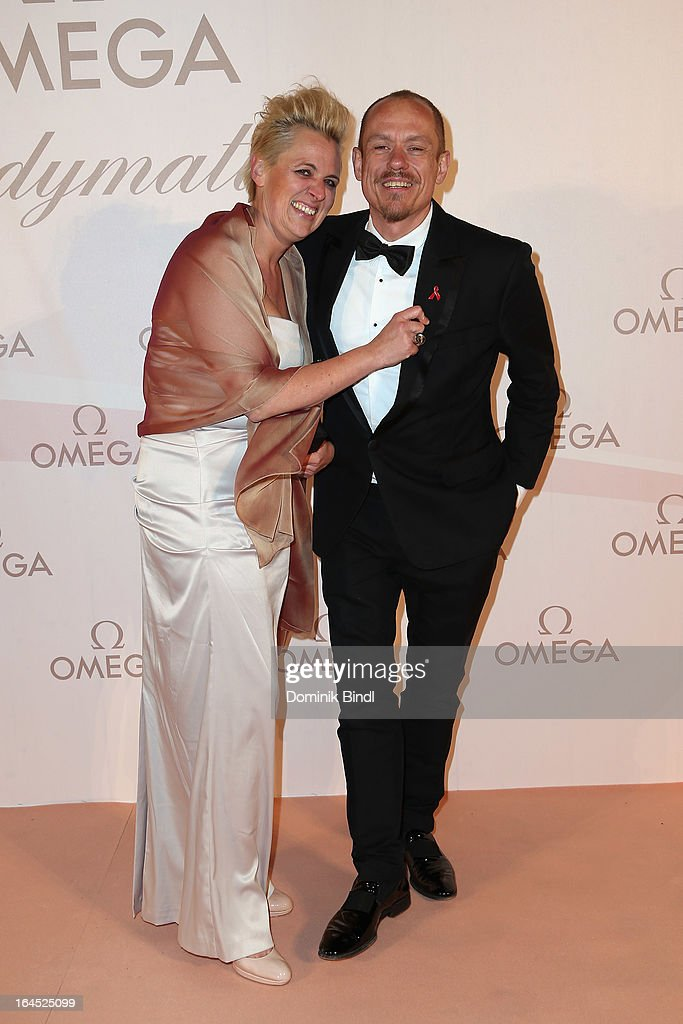 Gery Keszler and wife attend the Omega Gala 'La Nuit Enchantee' at Gartenpalais Liechtenstein on March 23, 2013 in Vienna, Austria.