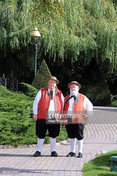 GesangsDuo Wildecker Herzbuben mit Wolfgang Schwalm und Wilfried Gliem ARDShow Immer wieder Sonntags EuropaPark Rust BadenWürttemberg Deutschland...