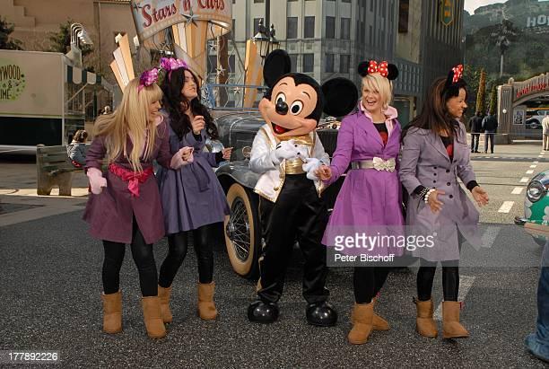 Gesangsgruppe Queensberry Siegerinnen der Pro 7CastingShow Popstars Just 4 Girls Leonore Bartsch Antonella Victoria Ulbrich Gabriella Micky Maus...