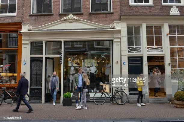 Geschaefte Ree Straat De 9 Straatjes Amstel Amsterdam Niederlande