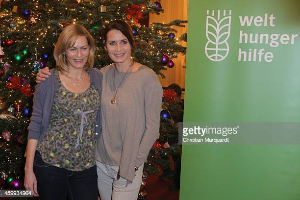 Gesine Cukrowski and Anja Kling attend the 'Mein Mali' Book Presentation at Komische Oper on December 4 2014 in Berlin