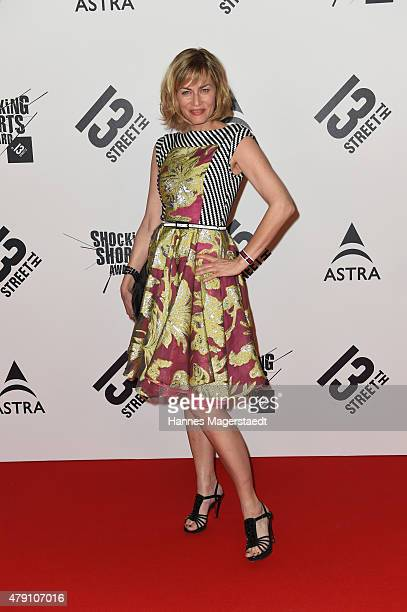 Gesine Cukrowski attends the Shocking Shorts Award 2015 during the Munich Film Festival on June 30 2015 in Munich Germany
