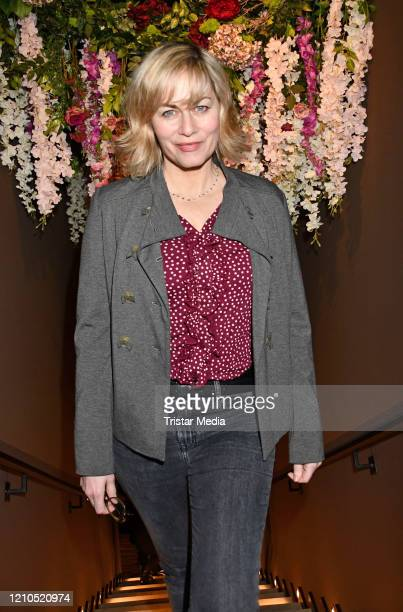 Gesine Cukrowski during the Actors Night as part of the 70th Berlinale International Film Festival Berlin at The Rose Spy Bar on February 28 2020 in...