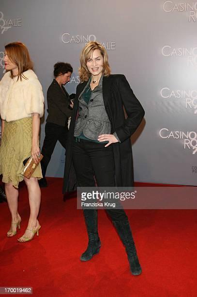 Gesine Cukrowski In Germany at Premiere Of 'Casino Royale' in Cinestar Potsdamer Platz Berlin
