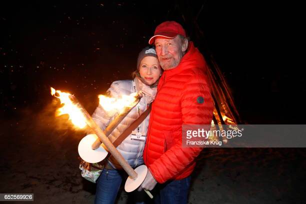 Gesine Friedmann and Michael Mendl attend the 'Baltic Lights' charity event on March 11 2017 in Heringsdorf Germany Every year German actor Till...