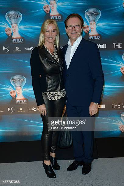Gesine Lippert and Wolfgang Lippert attends 'The Wyld - Nicht von dieser Welt' Premiere at Friedrichstadt-Palast on October 23, 2014 in Berlin,...