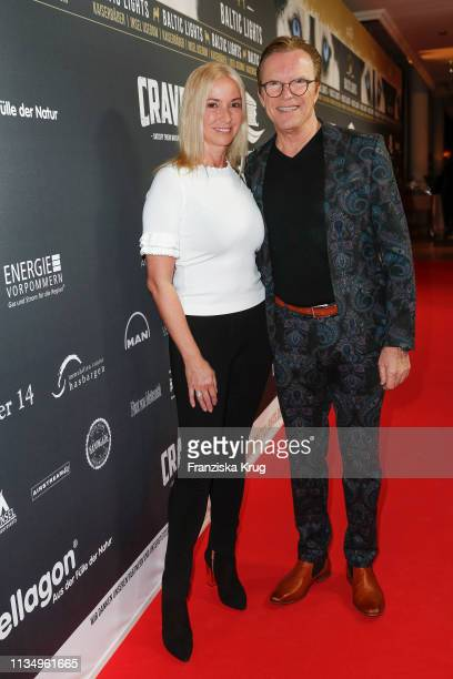 "March 09: Gesine Lippert and Wolfgang Lippert during the ""Baltic Lights"" gala night event on March 9, 2019 in Heringsdorf, Germany. The annual..."