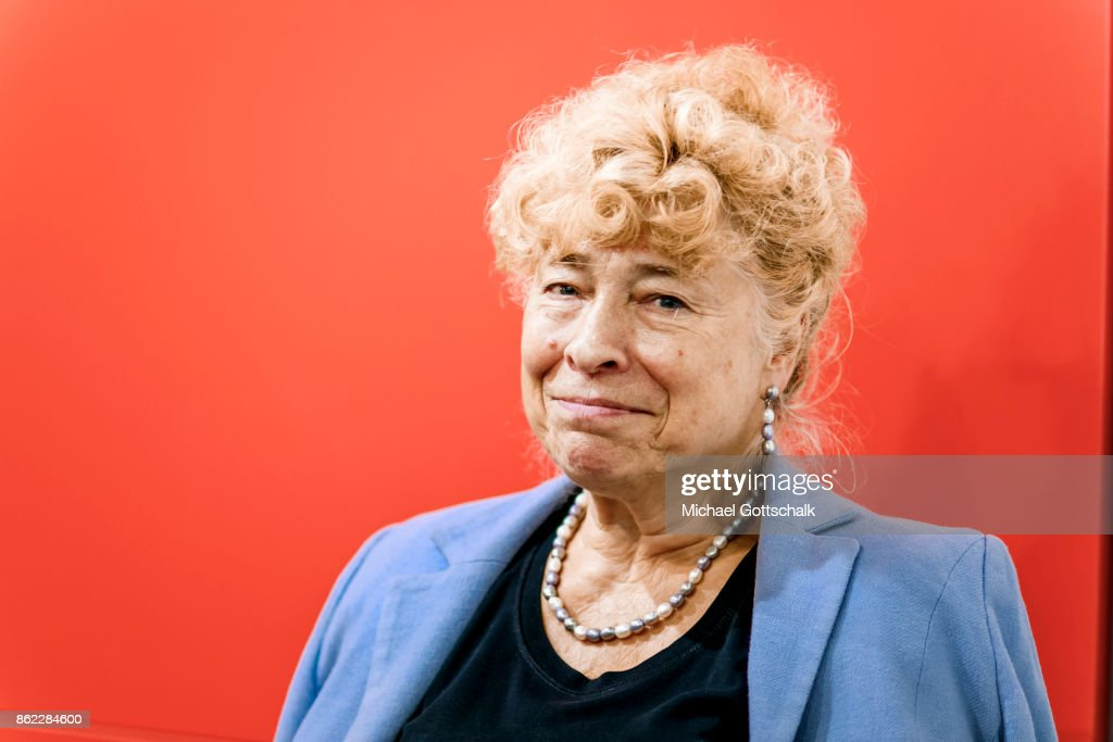 Gesine Schwan attends Frankfurt Book Fair 2017 on October 12, 2017 in Frankfurt, Germany.