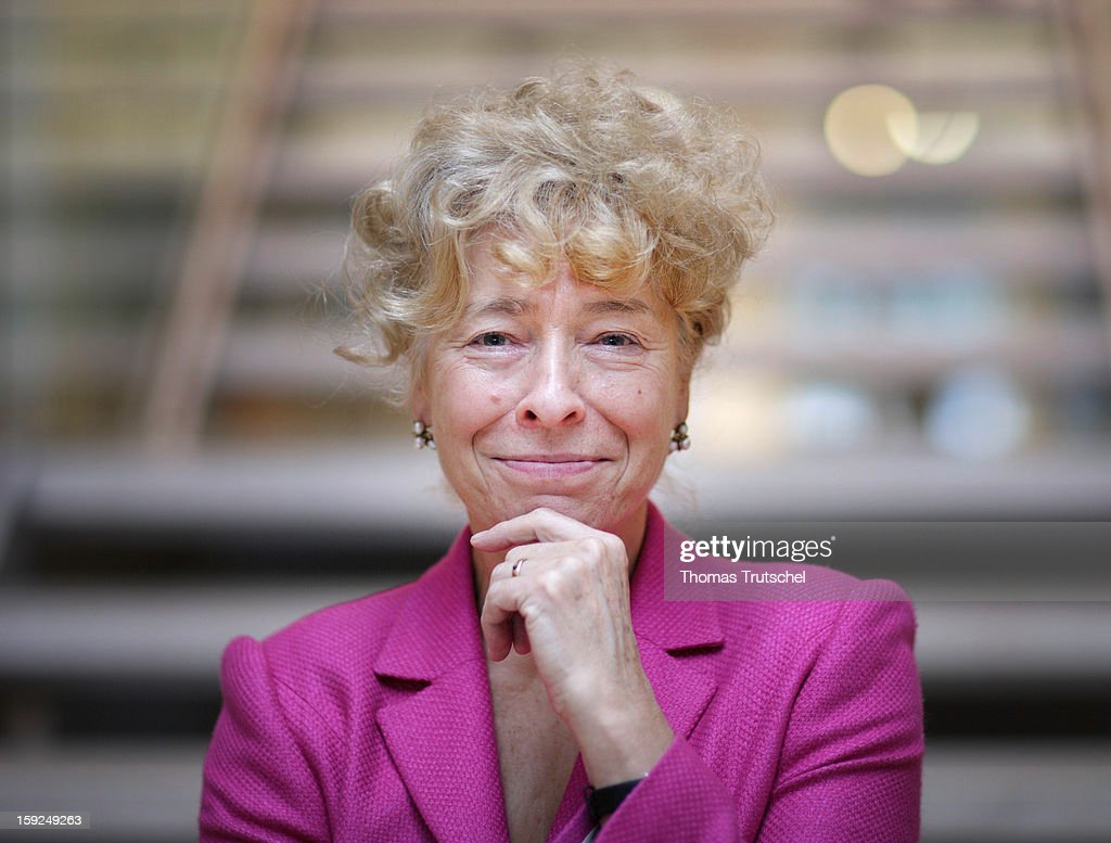 Gesine Schwan, member of the Social Democratic Party and candidate for the federal presidential election 2009, December 3, 2008 in Berlin, Germany.