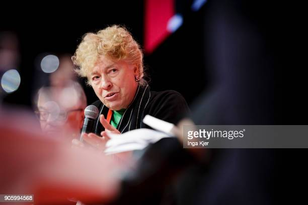 Gesine Schwan SPD in the course of the PES party congress on December 01 2017 in Lisbon Portugal