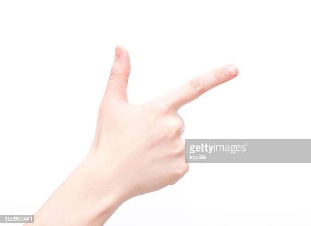 Gesture symbols: Number Eight