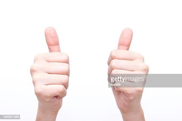 行為コード「非常に良い」 - 親指 ストックフォトと画像
