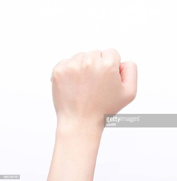 チェルフィッチュ clenched 拳;