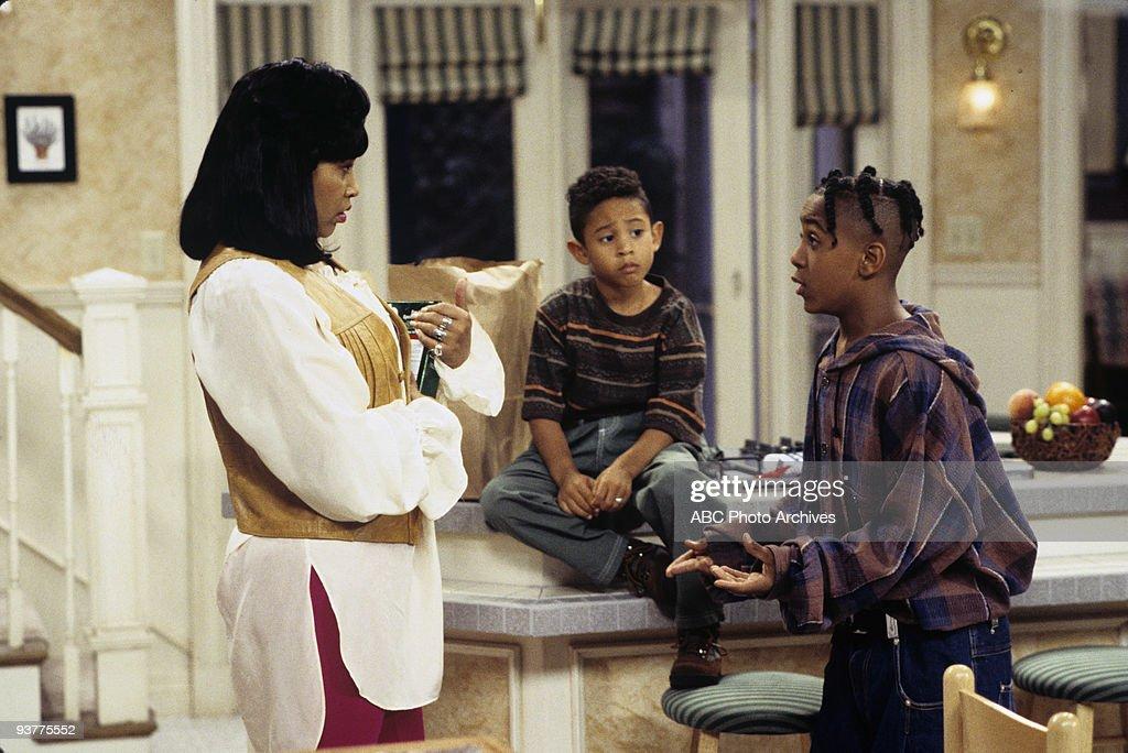 SISTER, SISTER - 'Get a Job' 11/23/94 Jackee Harry, Tahj Mowry, Marques Houston
