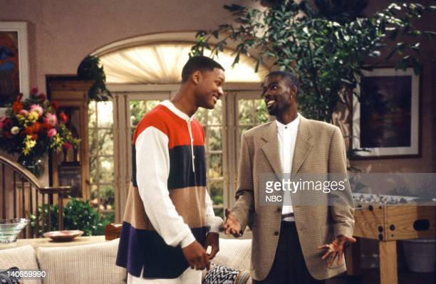 AIR THE 'Get a Job' Episode 2 Pictured Will Smith as William 'Will' Smith Chris Rock as Maurice Photo by Jan Sonnenmair/NBCU Photo Bank