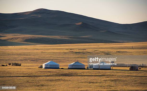 Get camp in Gobi Desert , Mongolia