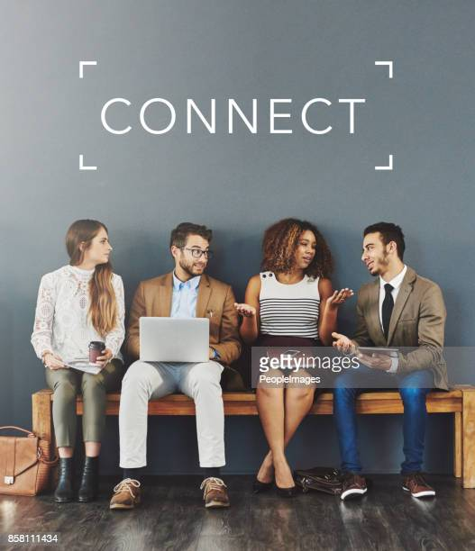 get connected, get successful - people icons stock pictures, royalty-free photos & images