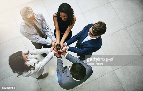 get going and get growing - responsible business stock photos and pictures