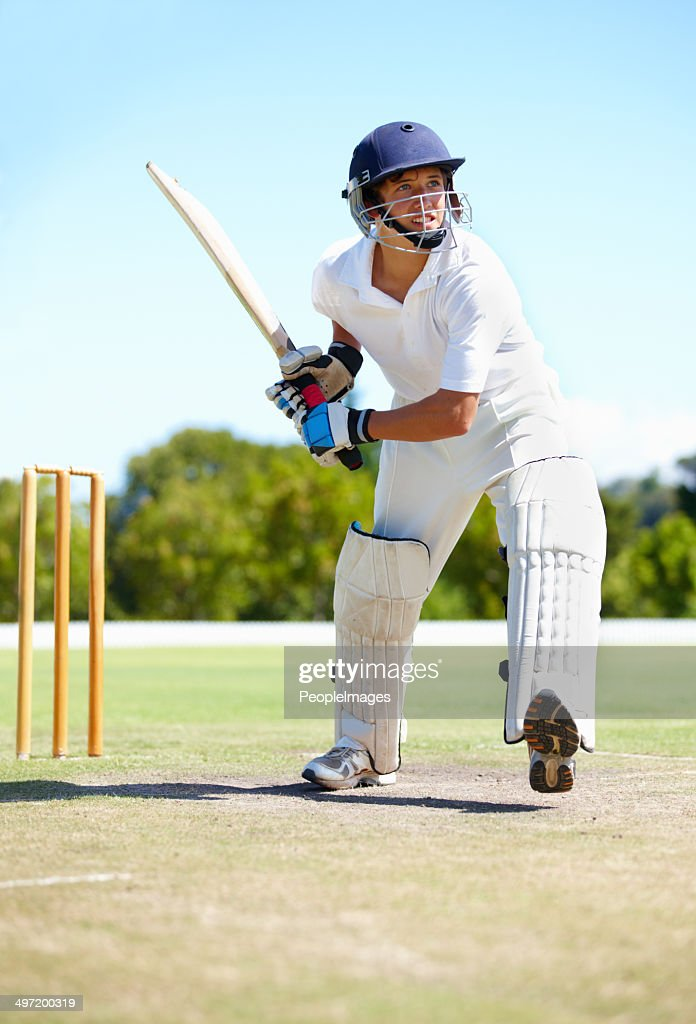 Get ready for six more runs : Stock Photo