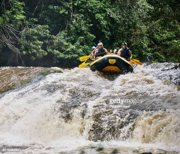 get ready! - whitewater rafting stock pictures, royalty-free photos & images