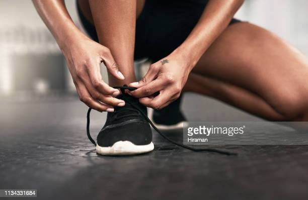 get ready to shape up your game - one young woman only stock pictures, royalty-free photos & images